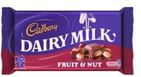 UK CADBURY Fruit & Nut 230G