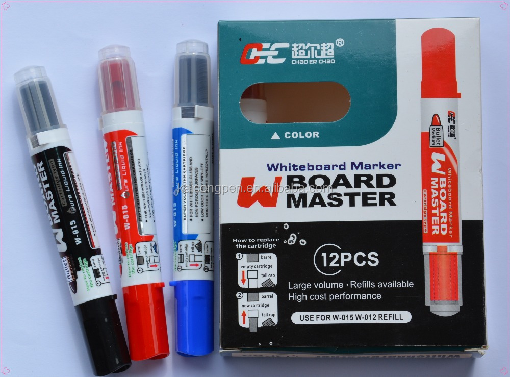 New structure refillable refill ink best whiteboard marker