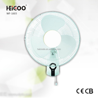Color White String Control Wall Fan