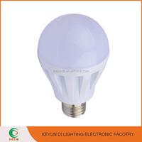 2016 the newest 7W A60 Globe LED Light Bulbs B22/E27 Cap Lamp Base and PC Diffuser
