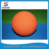 Shandong Shengbang brand concrete pump cleaning ball