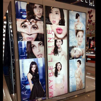 display led lighting led backlit photo poster frame