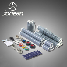 cable joint cold shrinkable termination kits tinned terminal silicone rubber shrink tube through joint kits