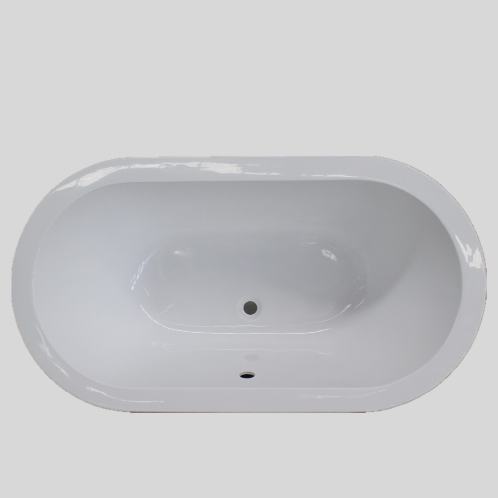 Competitive price new design 2 sided skirt bathtub
