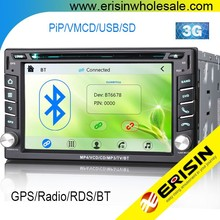 "Erisin ES7610M 6.2"" 2 Din Autoradio DVD GPS with SWC Bluetooth"