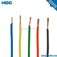 f-cv electrical house wiring material 750v copper red/blue/yellow/black single wire