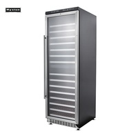 Dual zone Large capacity Stainless steel Wine cooler