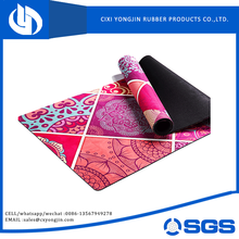 oem non toxic factory price custom digital printed yoga mat eco
