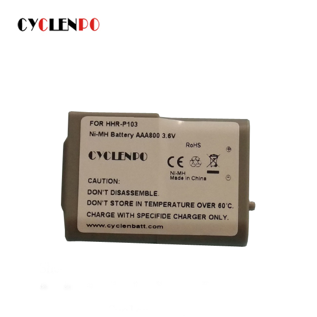 long use time and charge rapidly Cyclenpo 3.6V aaa 800mah ni-mh battery pack