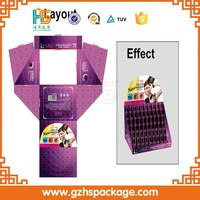 Hot!!! Wholesale custom design cardboard lip balm display boxes