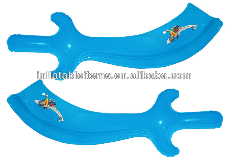 PVC kids toys inflatable knife