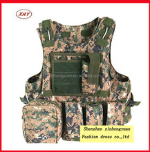 Military Molle Vest with SGS standard ,abu tactical vest