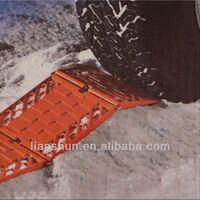 Multifunction vehicle escaper traction tracks, sediment turnaround board, emergency antiskid plate