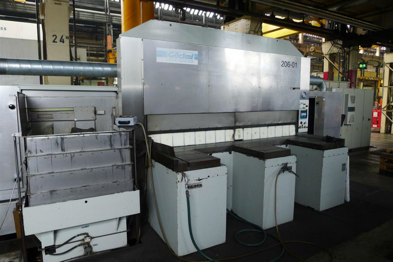 Goeckel K5 CNC edge grinding machine