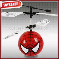 2 ch rc ball plastic toy spider man