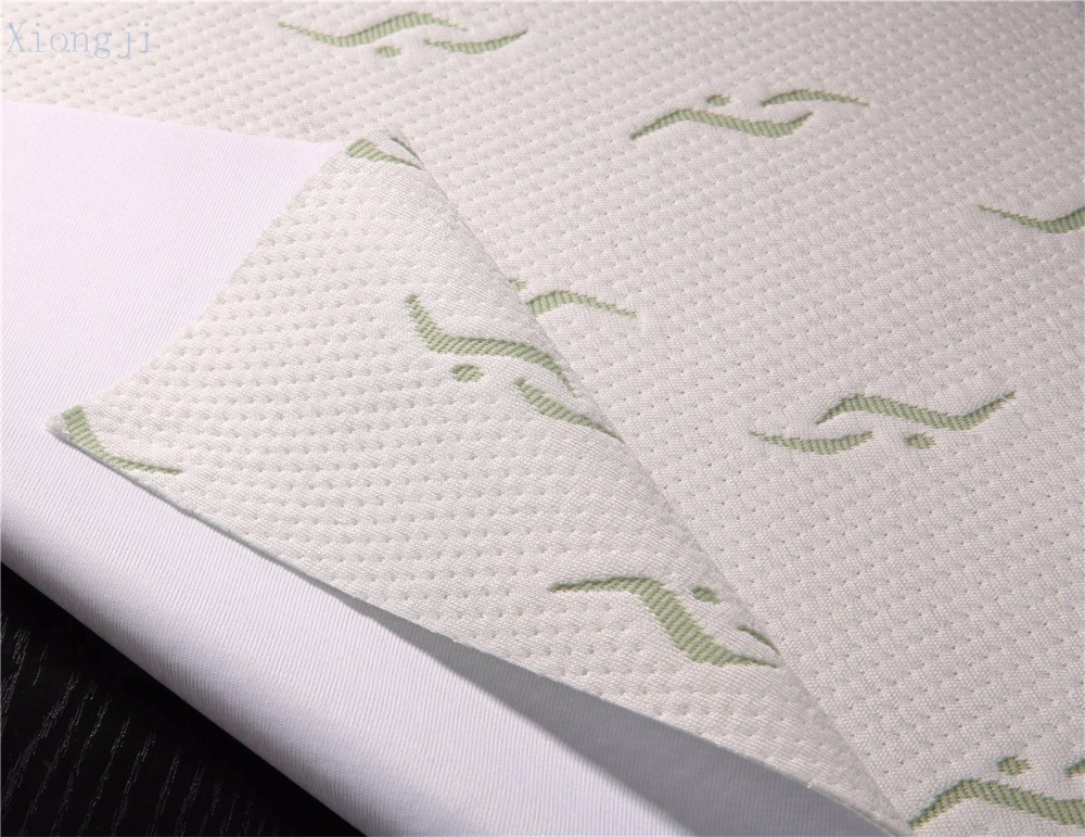 waterproof bamboo jacquard fabric laminated TPU and 100% polyester knit fabric