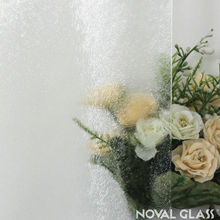4mm 2440*1830 mm Clear Chinchilla Rolled Glass in Stock