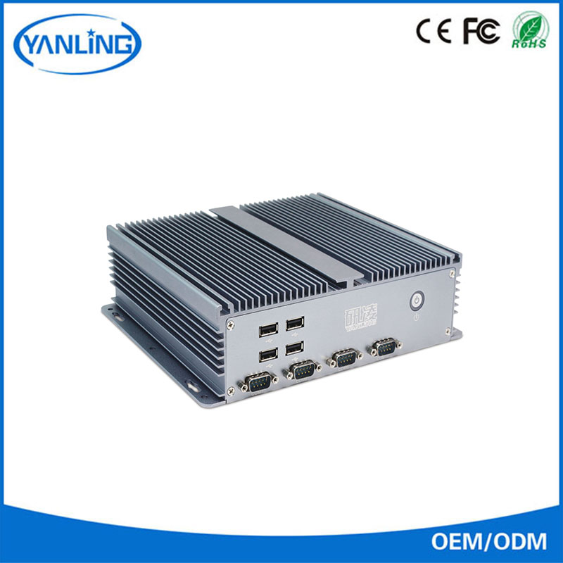 embedded industrial computer IBOX-206 fanless pc barebone with LPT
