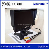 Small Size Sun Visor 12 inch 8 inch 7 inch in Dash Car TV Monitor With USB VGA Port