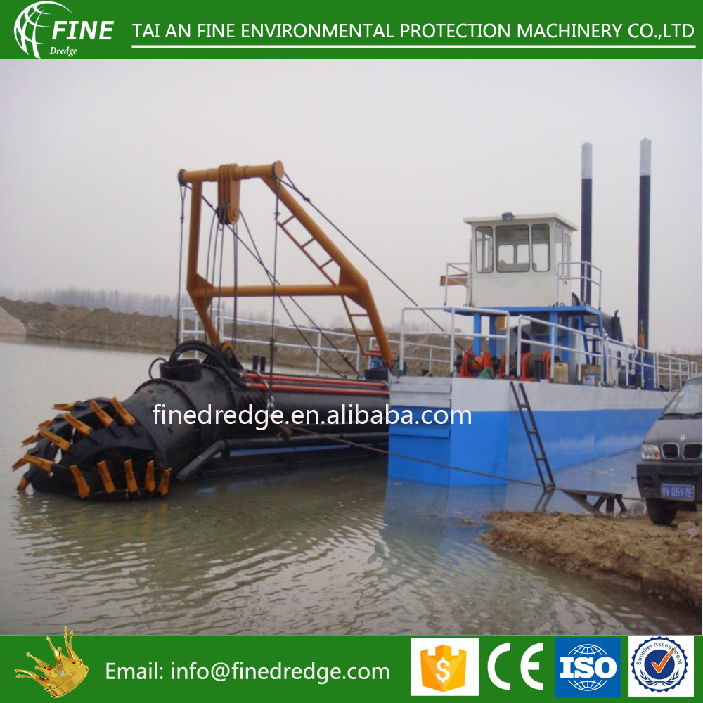 Most popular 20 inch cutter suction dredger in Bangladesh