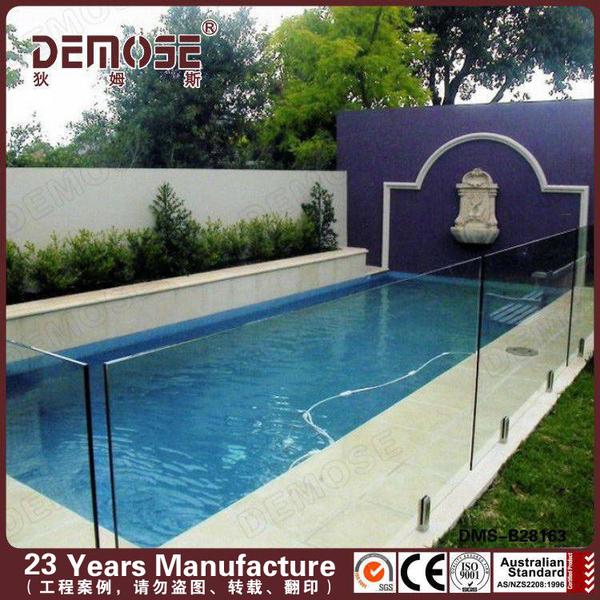 swimming pool tempered glass fence panels