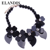 E ELANDIS Women Accessories Black Acrylic