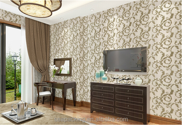 Hot-sale self adhesive wallpaper decorative wallpaper/beautiful wallpaper/3d wallpaper