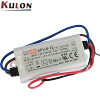 Meanwell APV Series 8w 12v led switching power supply
