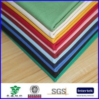 custom solid color organic cotton fabric wholesale
