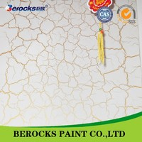 High quality low price water based crackle paint/manufacture price
