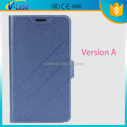 2015 Classical black Custom Sleeping Model Pu Leather Cover For Asus Zenphone 5