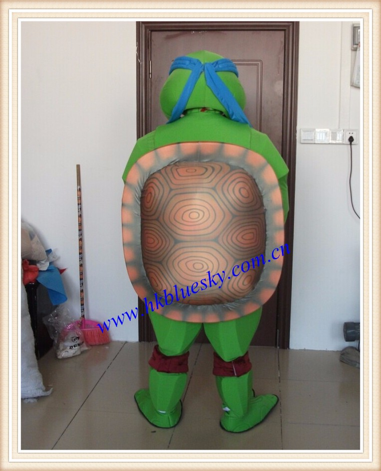 Handmade Teenage Mutant Ninja Turtles used mascot costumes for sale