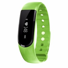 New products Bluetooth pedometer Smart Wristband Heart Rate fitness monitor vibrating Smart Bracelet