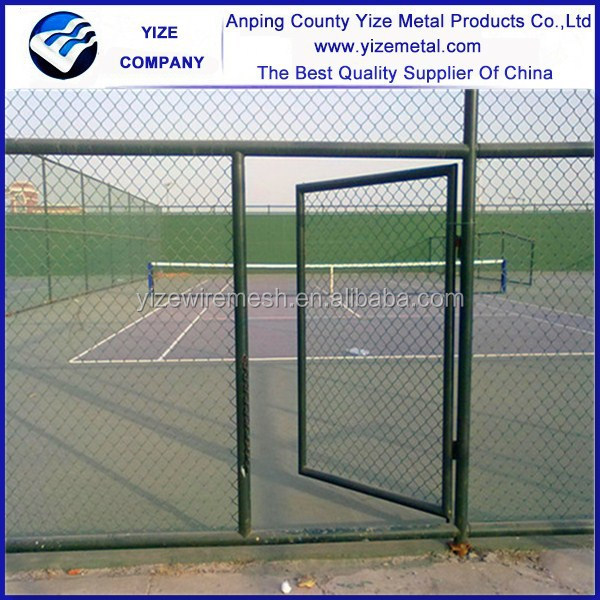 China Manufacture chain link fence slats metal fence