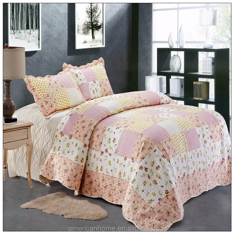Home decor costume cotton filled quilt india
