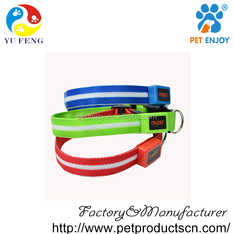 fop pet products led collar rechargeable ,led dog collar dog leashes sex dog