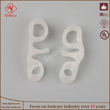 china supplier gel toe spacers for bunions treatment aid for hallux valgus pain