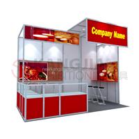 10x10 portable tradeshow booth for trade fair