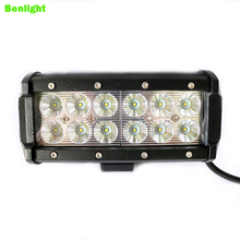 Cheap Price 12v dual row 120w curved led driving light bar for car