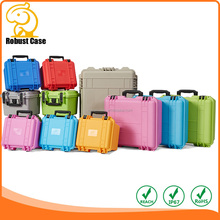 Waterproof hard outdoor plastic lcd tv transport shipping cases