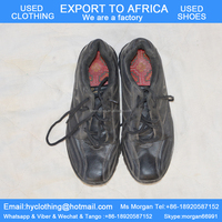 factory directly supply high quality tidy men's used shoes used sports shoes export for Africa