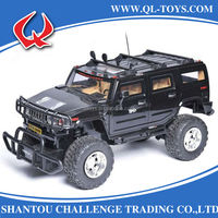 9CH 1:6 Remote Control RC Hummer Car Toys With Light and Door Open