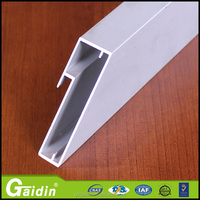 construction company profile aluminum clamping profiles for glass
