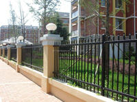 2015 NO.1 home products portable iron fence by fast supplier