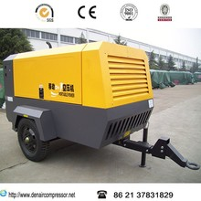 Industry silent screw mobile air compressor