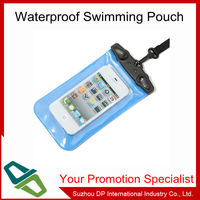 PVC Swimming waterproof bag pouch for iphone and valuables