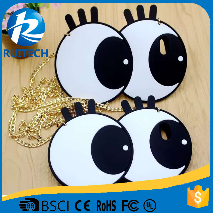 For iphone6s High quality TPU case cute big eyes shaped for iphone 6 6 plus phone case
