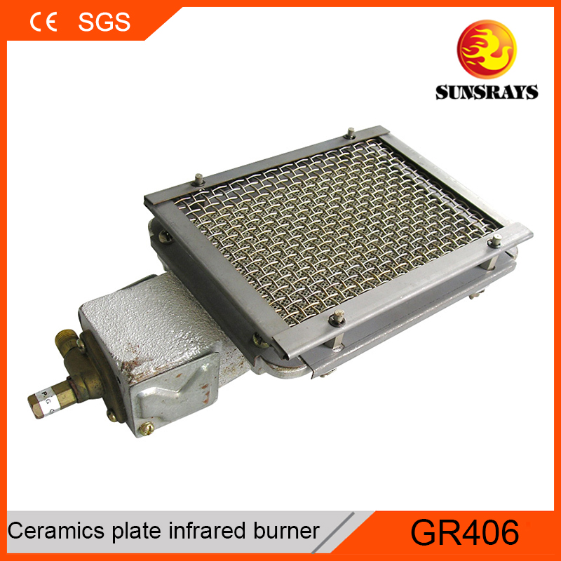Generous kebab machine single gas burner