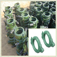 Concrete pump spare part 4'' 5''highly abrasive Pipe clamp coupling