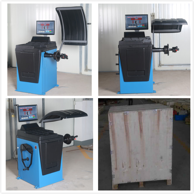 car motorcycle auto maintenance workshop equipment for tire balancer